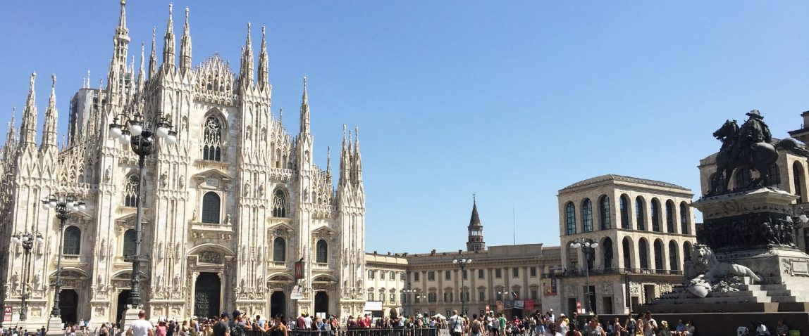 Classic Milan walking tour